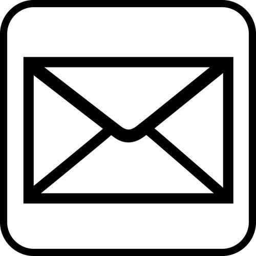 Piktogrammer Post skilt