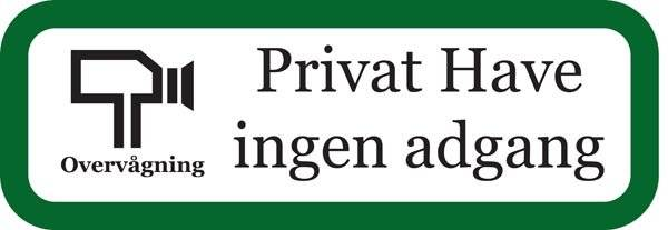 Privat have