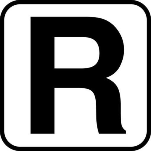 R - piktogram. skilt