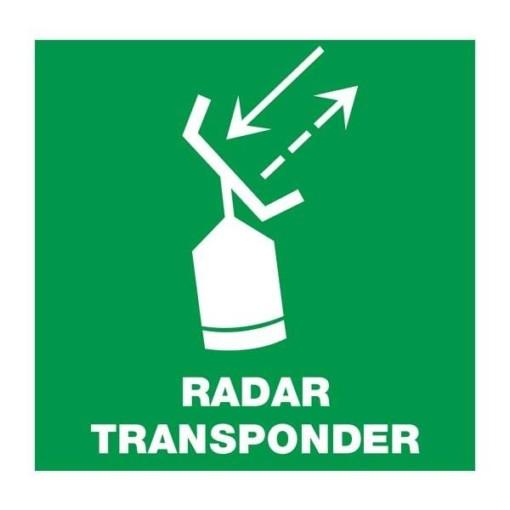 Radar Transponder: Redningsskilt