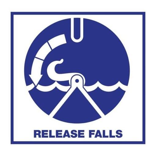 Release Falls: Redningsskilt