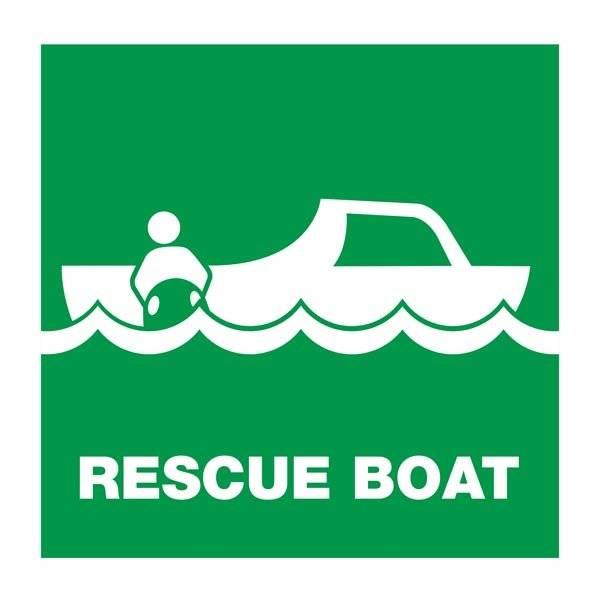 Rescue Boat: Redningsskilt