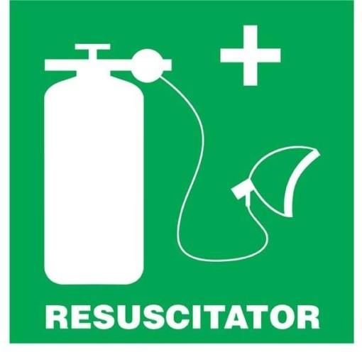 Resuscitator Redningsskilt