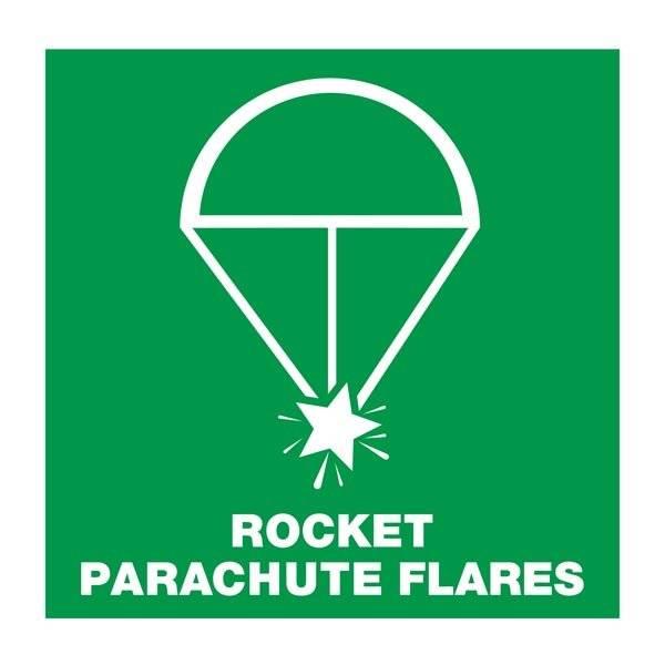 Rocket Parachute Flares: Redningsskilt