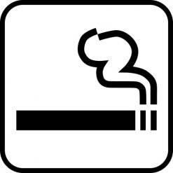 Ryge - piktogram skilt