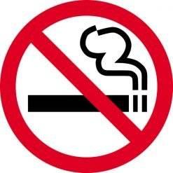 Rygeforbudsskilt - Rygning forbudt