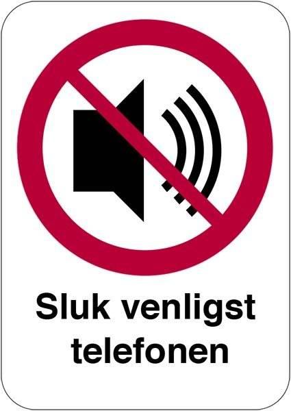 Sluk venligst telefonen skilt