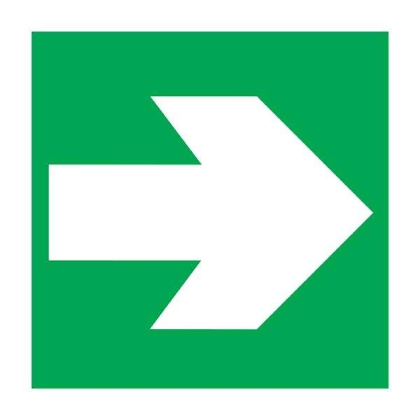 Straight Arrow Redningsskilt