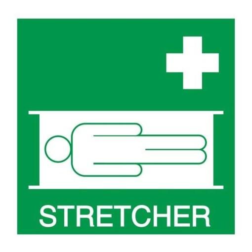 Stretcher: Redningsskilt