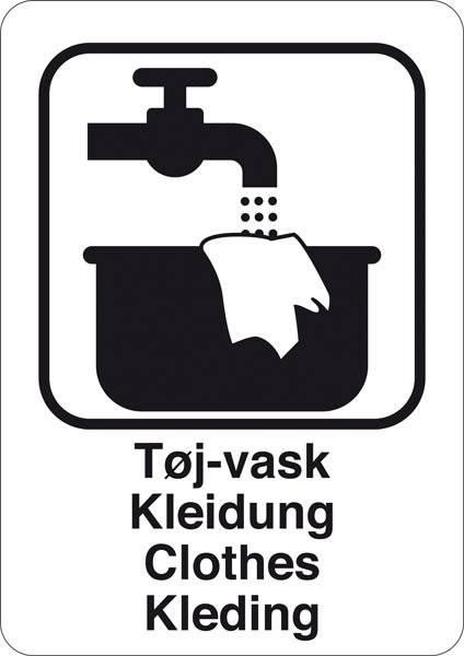 Opvask Abspülen Dishes Vaatwas. Bygningsskilt