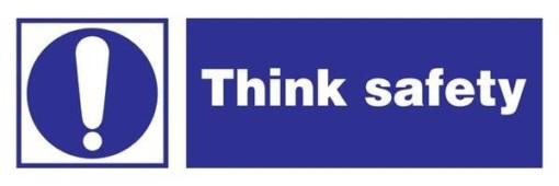 Think Safety Påbudsskilt