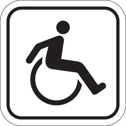 Toilet Handicap. Toiletskilt