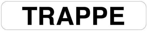 Trappe skilt
