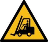 Truck kørsel ISO_7010_W014. Advarselsskilt