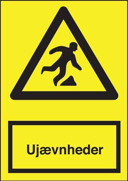 Advarselsskilt - Ujævnheder