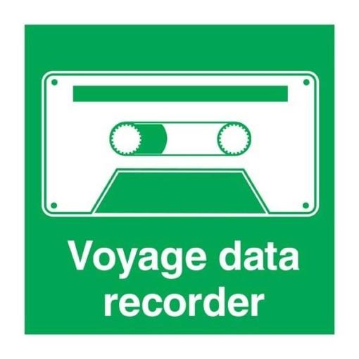 Voyage Data Recorder Redningsskilt