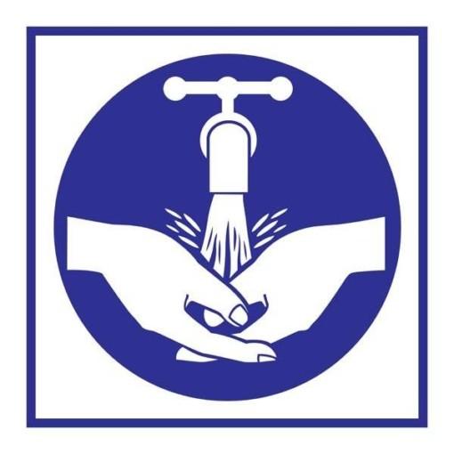 Wash Your Hands Påbudsskilt