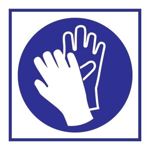 Wear Gloves Påbudsskilt