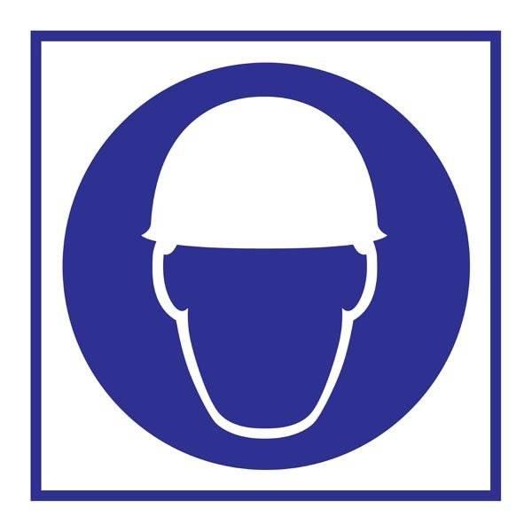 Wear Helmet Påbudsskilt