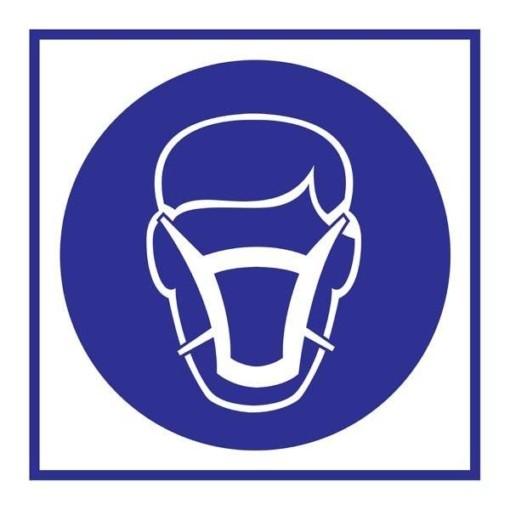 Wear Mask Påbudsskilt