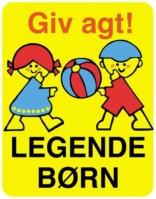 Legende børn skilte