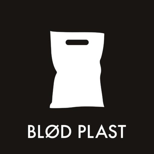 Dansk Affaldssortering - Blød plast sort