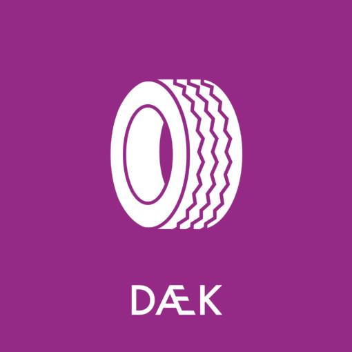 Dansk Affaldssortering - Dæk