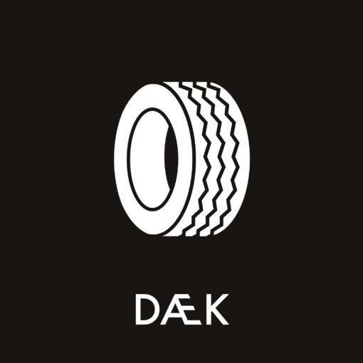 Dansk Affaldssortering - Dæk sort