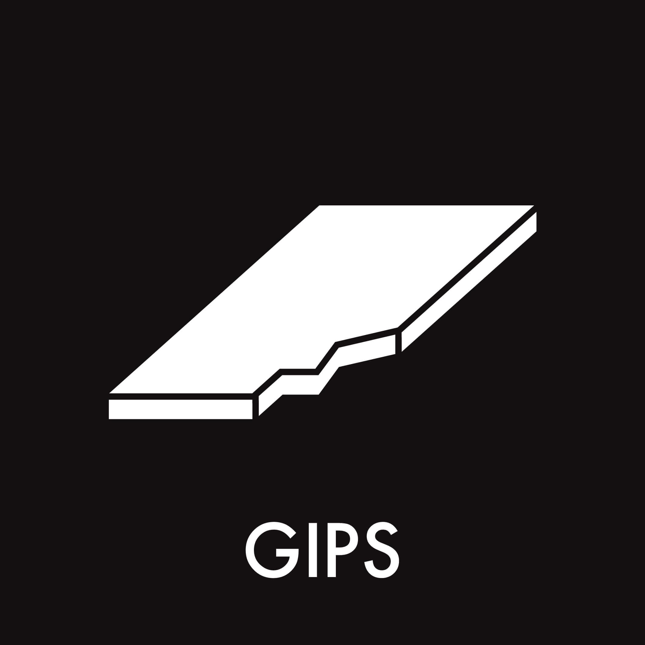 Dansk Affaldssortering - Gips sort