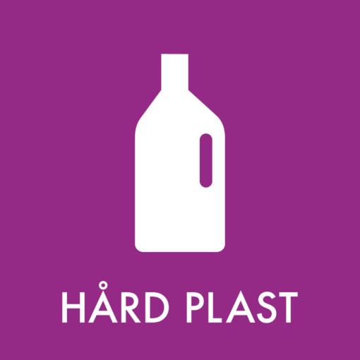 Dansk Affaldssortering - Hård plast