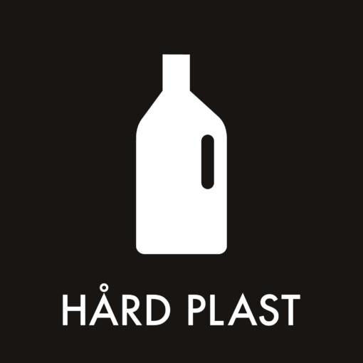 Dansk Affaldssortering - Hård plast sort