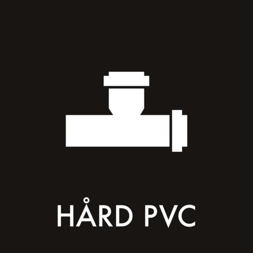 Dansk Affaldssortering - Hård PVC sort
