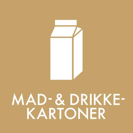 Dansk Affaldssortering - Mad- & Drikkekartoner