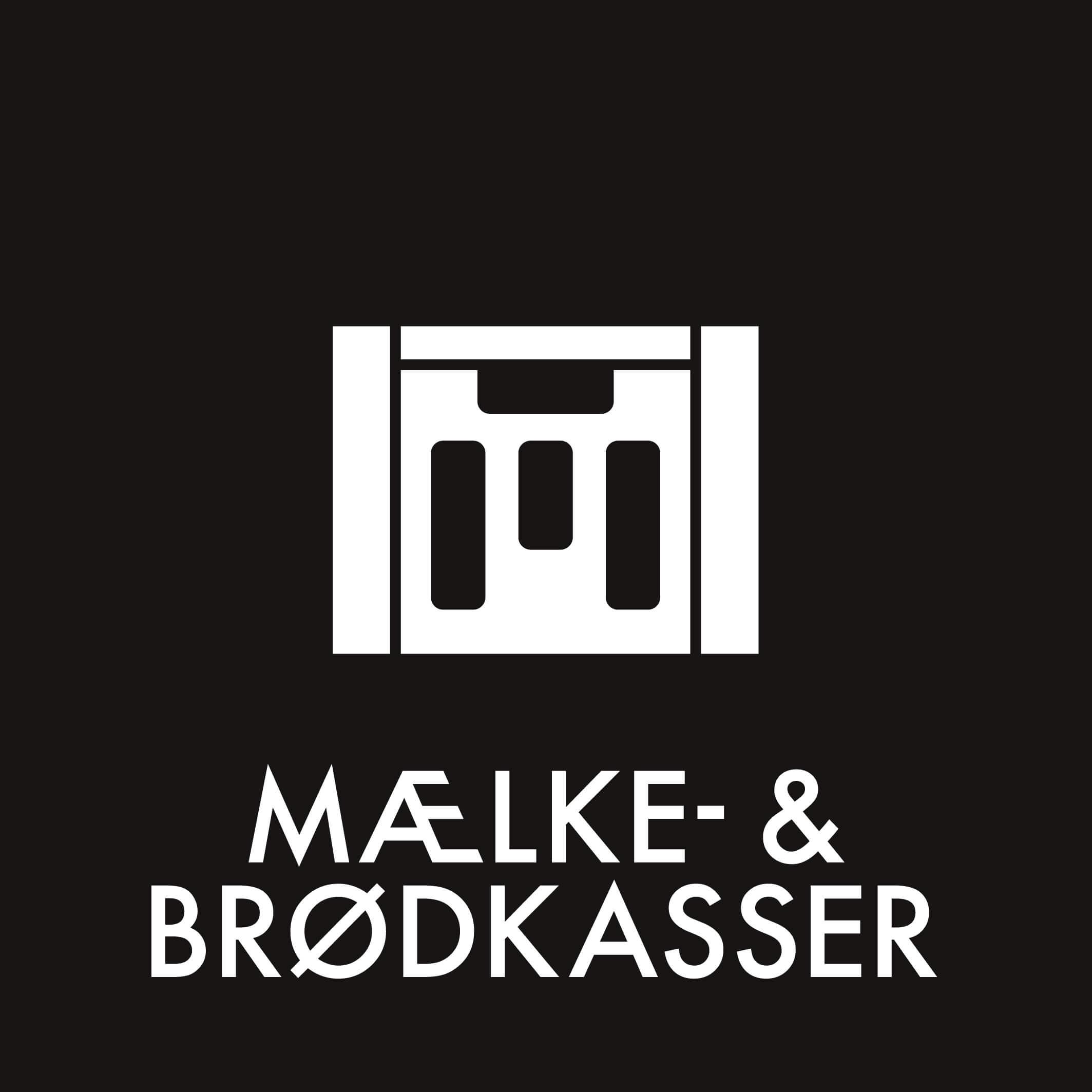 Dansk Affaldssortering - Mælke & brødkasser sort