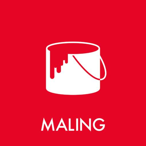 Dansk Affaldssortering - Maling