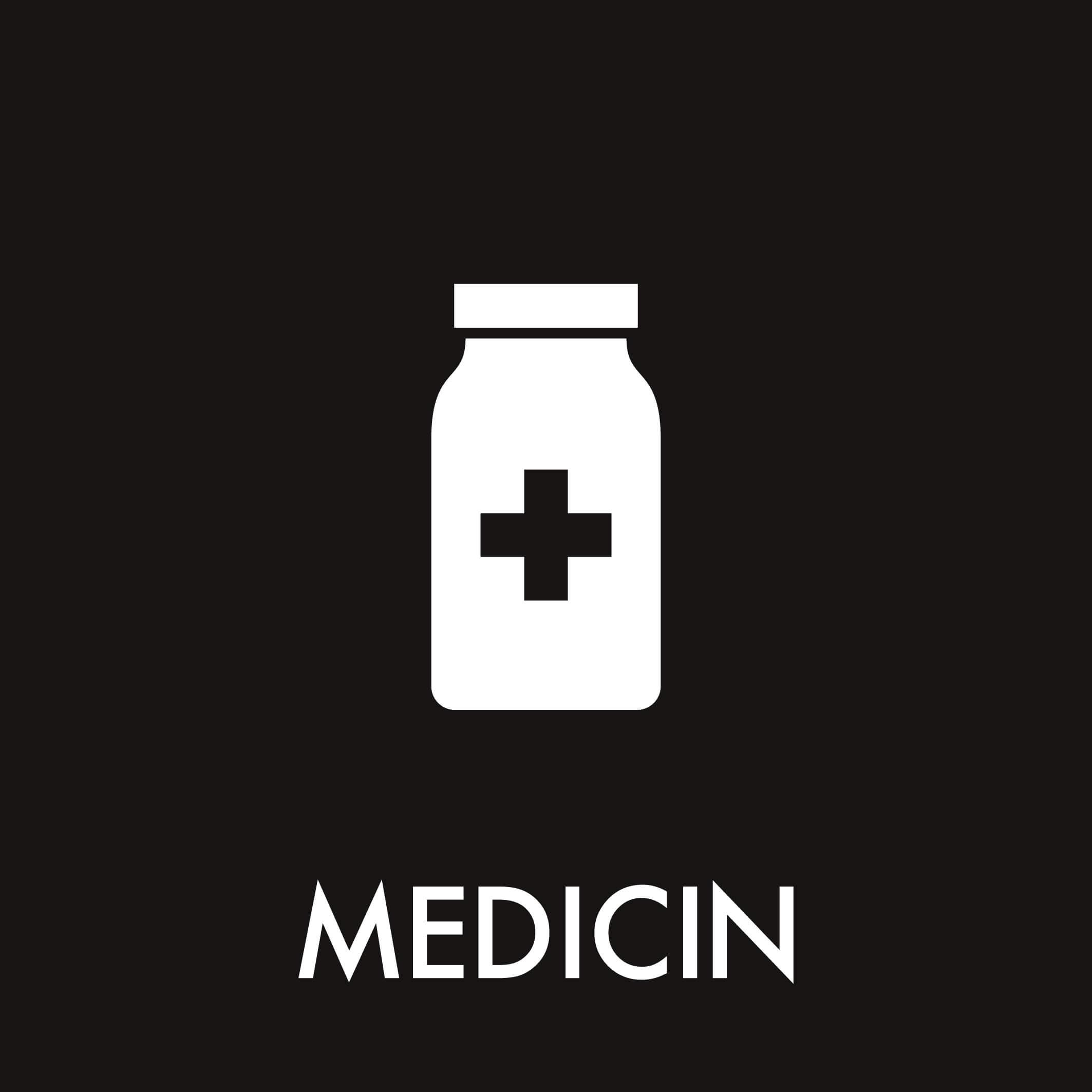 Dansk Affaldssortering - Medicin sort