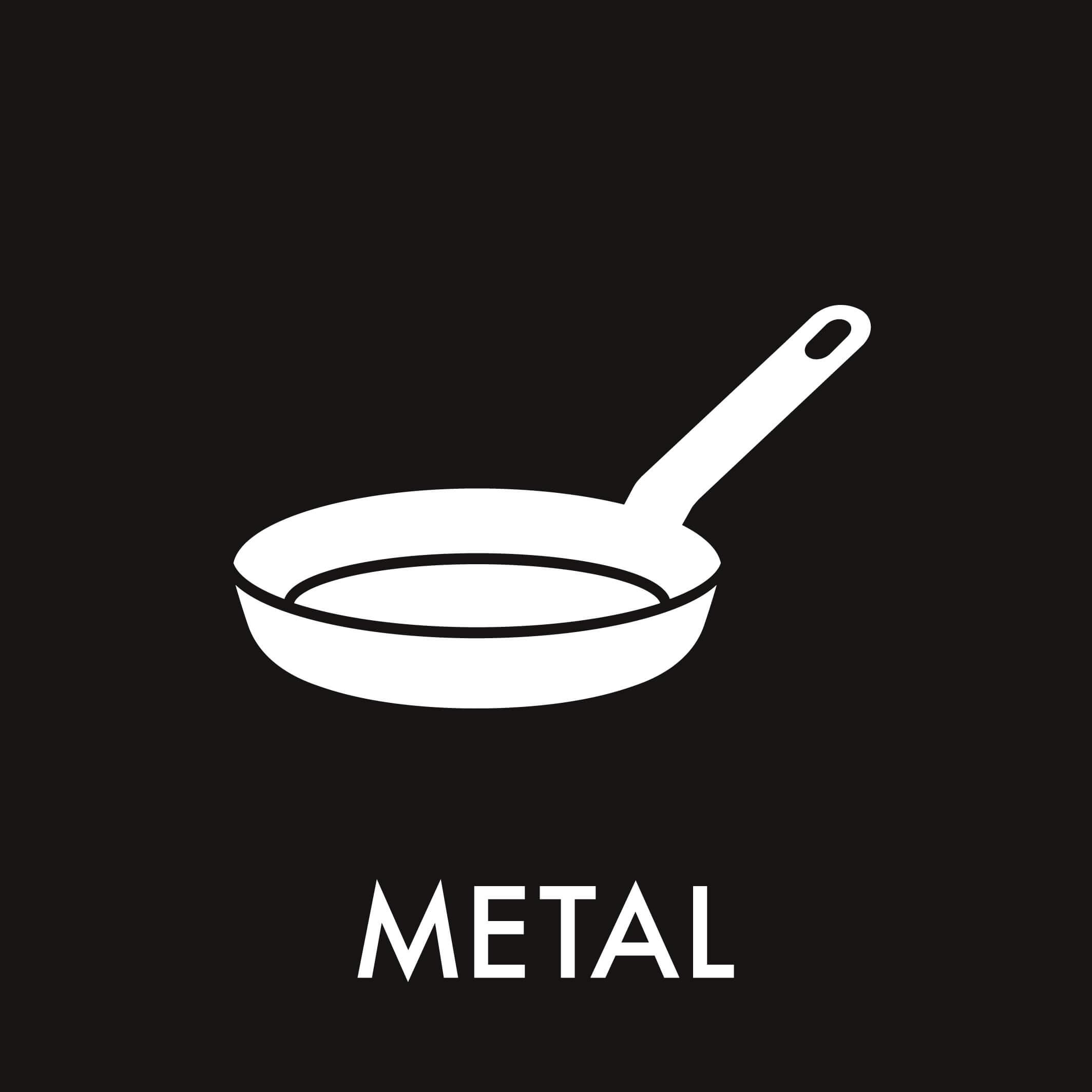 Dansk Affaldssortering - Metal sort