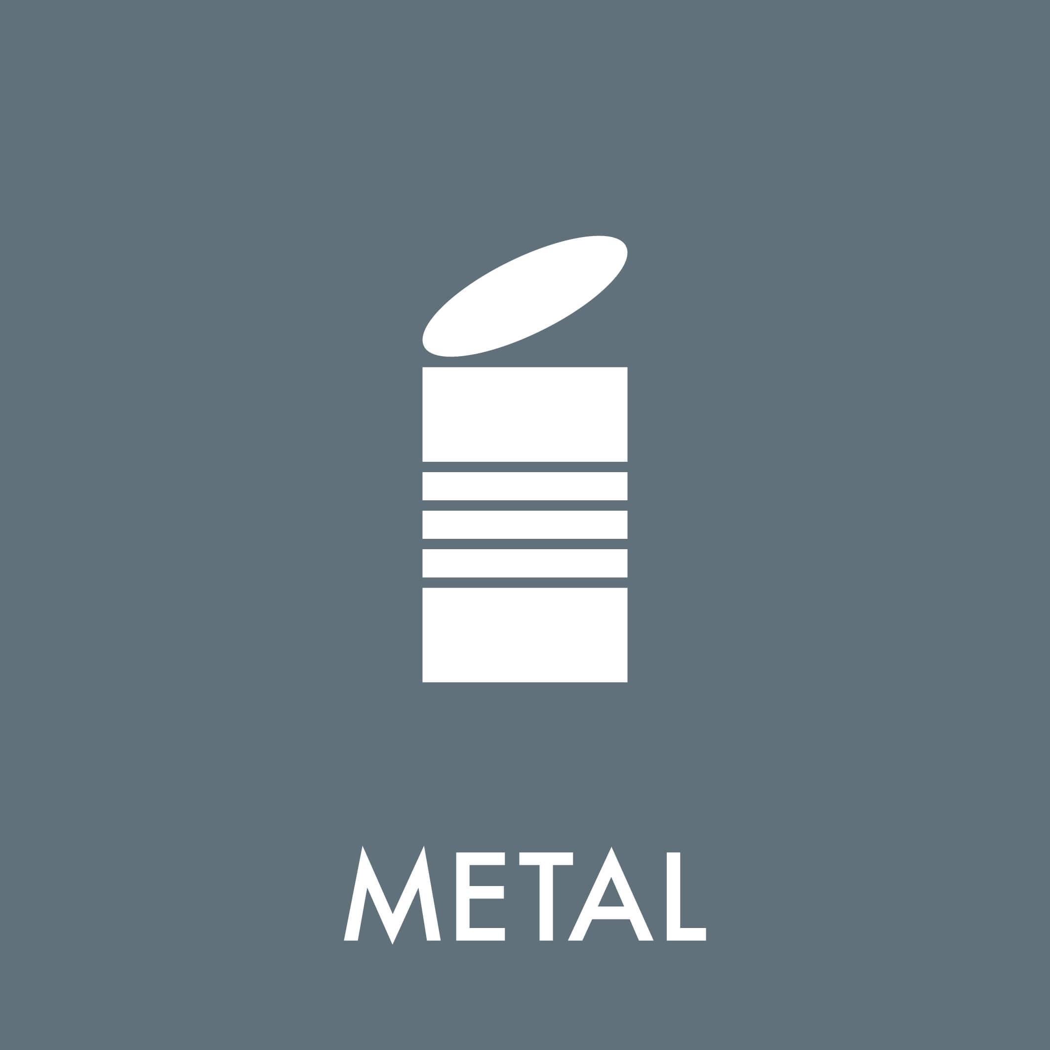 Dansk Affaldssortering - Metal