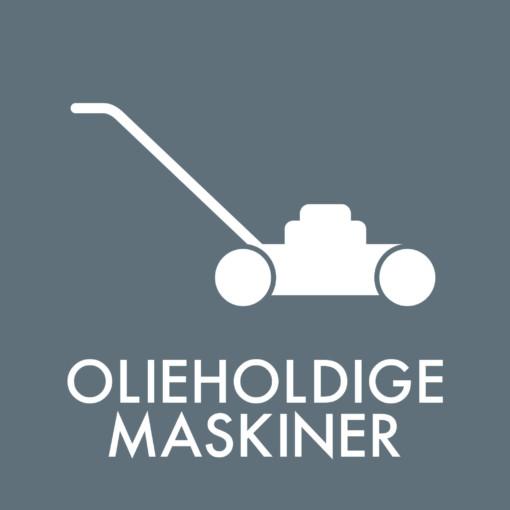 Dansk Affaldssortering - Olieholdige maskiner