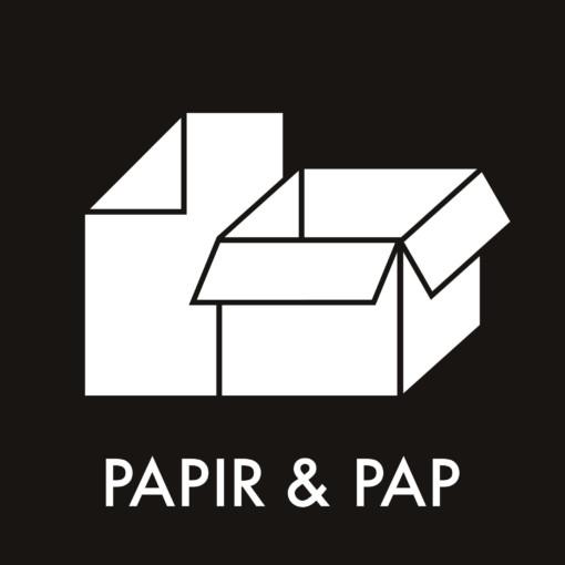 Dansk Affaldssortering - Papir og pap sort
