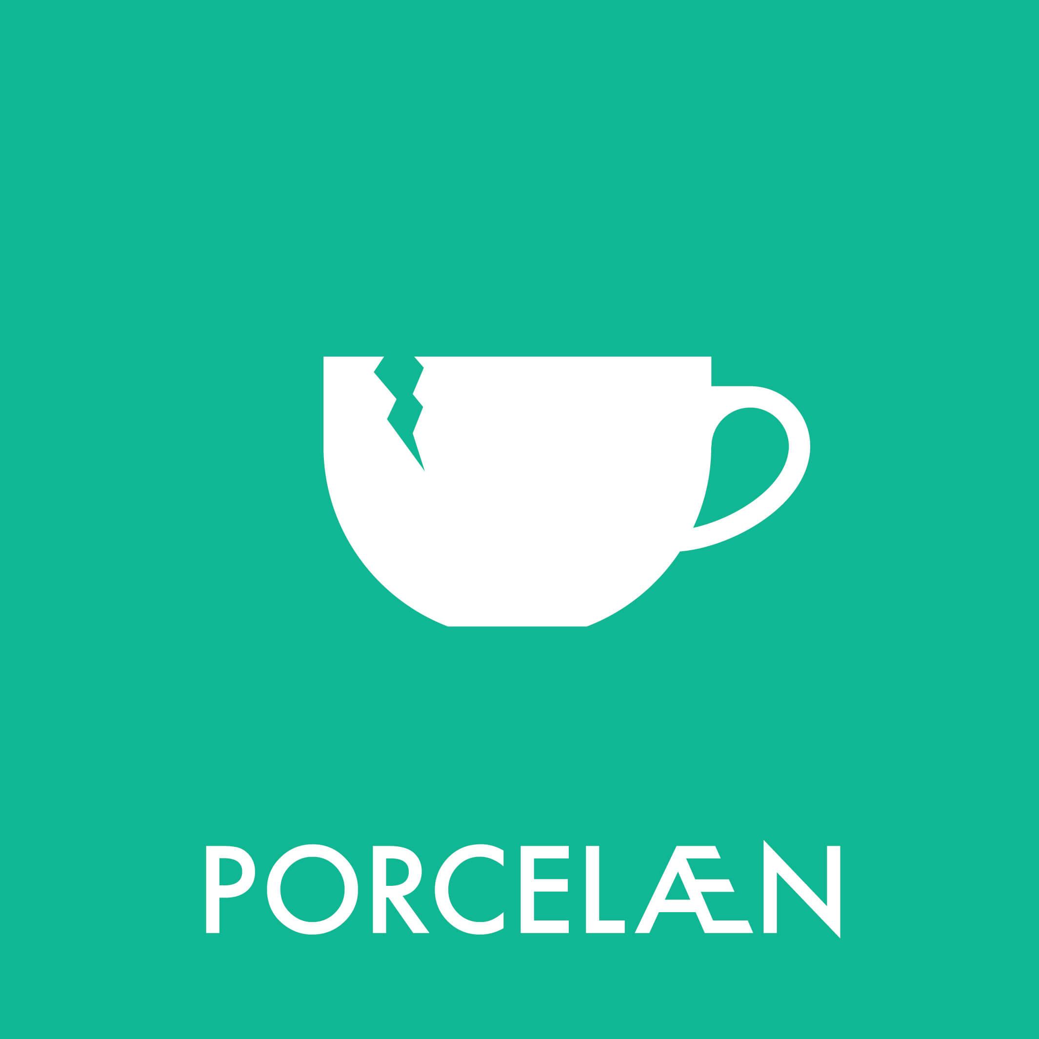 Dansk Affaldssortering - Porcelæn