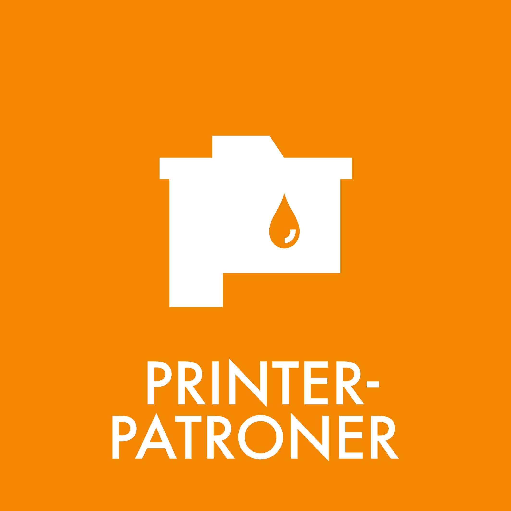 Dansk Affaldssortering - Printerpatroner