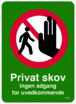 Privat skov
