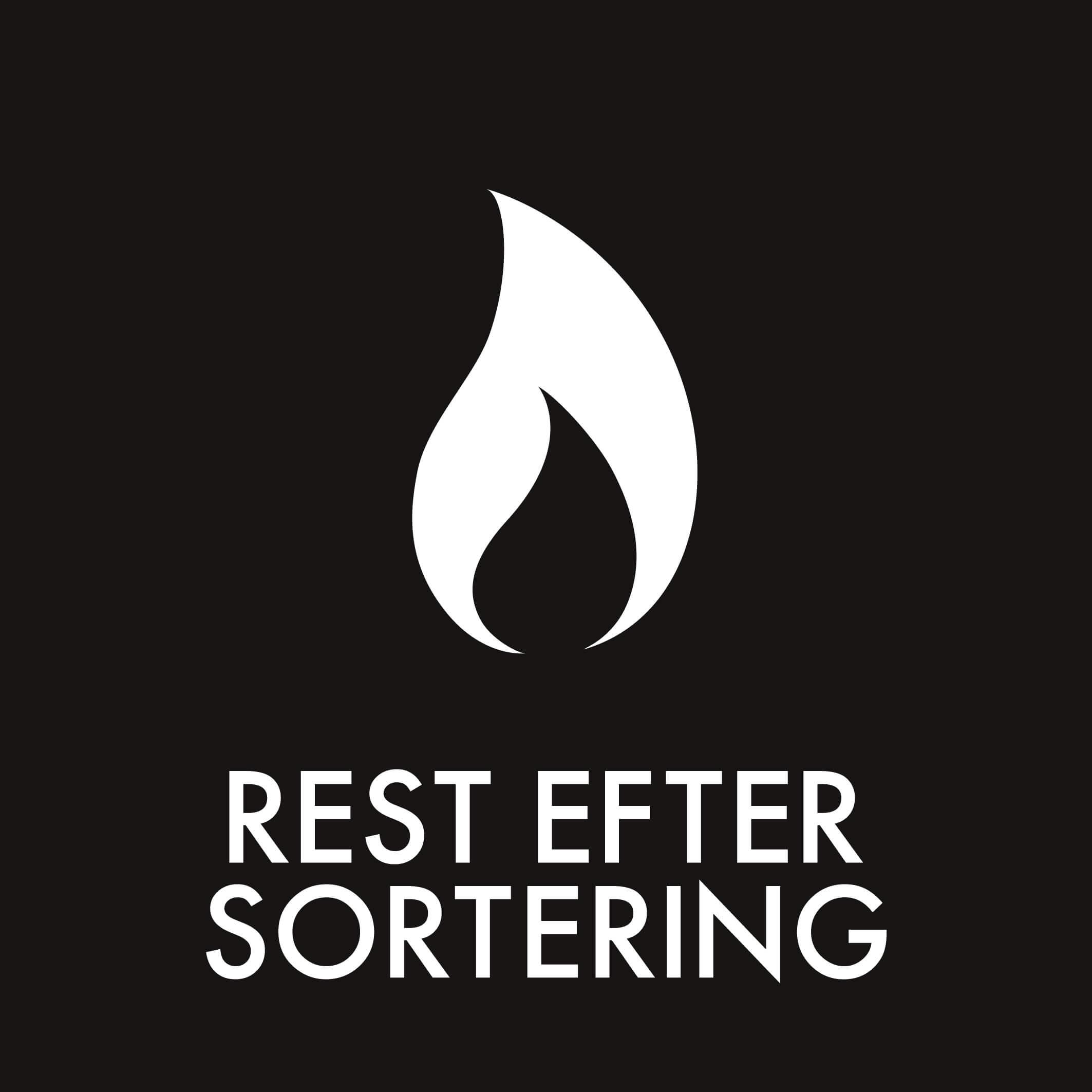 Dansk Affaldssortering - Rest efter sortering