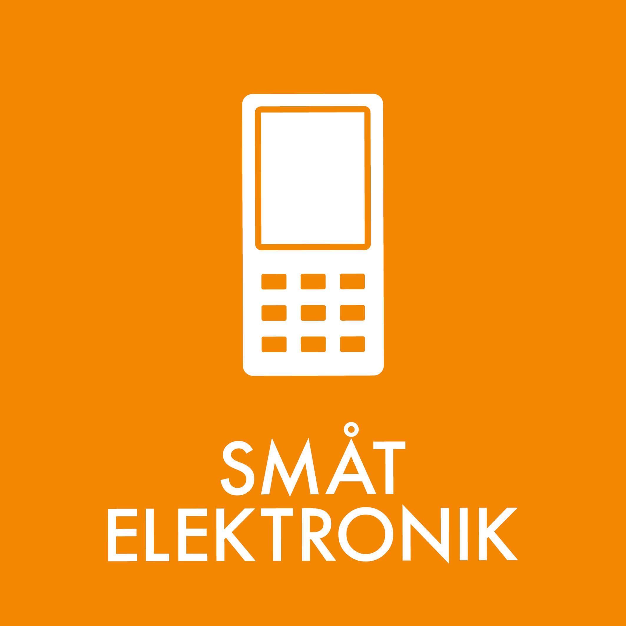 Dansk Affaldssortering - Småt elektronik