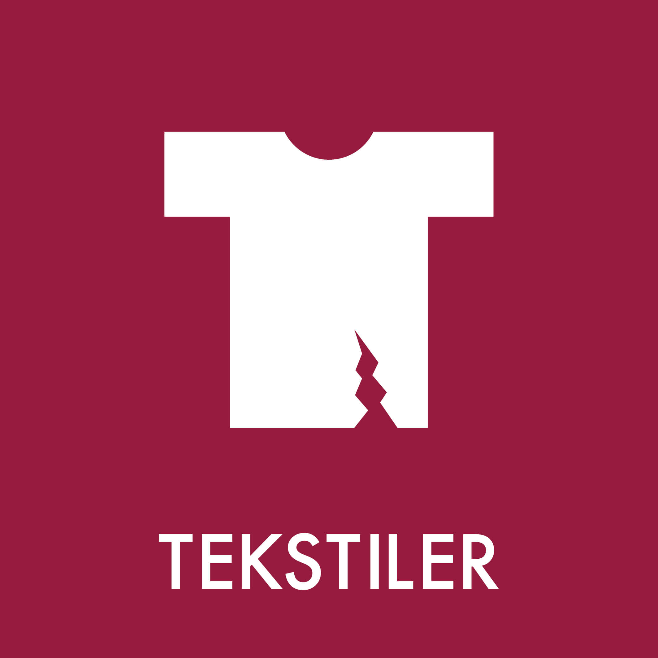 Dansk Affaldssortering - Tekstiler