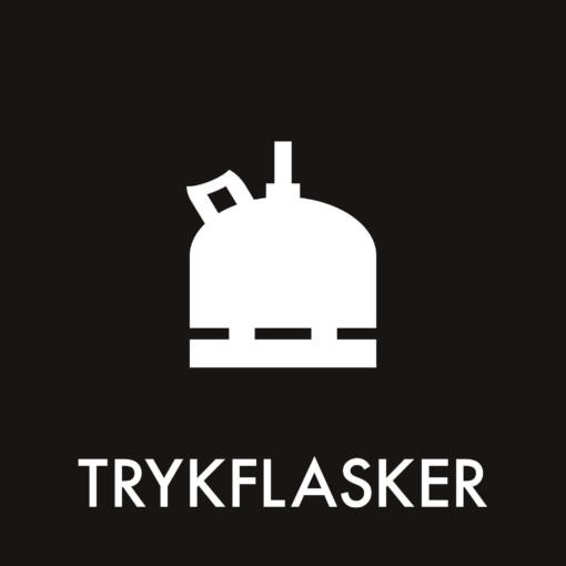 Dansk Affaldssortering - Trykflasker sort