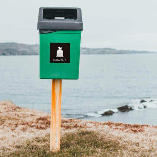 Dansk Affaldssortering miljøbillede