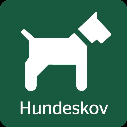 Hundeskov Naturstyrelsens skilt