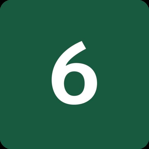 Rute 6 Naturstyrelsens skilt